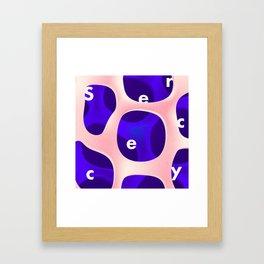 Secrecy Framed Art Print