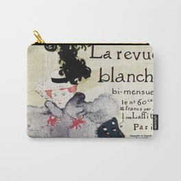 La Revue Blanche Toulouse Lautrec Carry-All Pouch