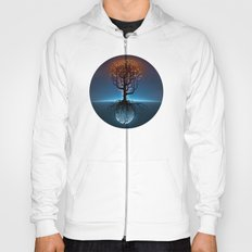 Tree, Candles, and the Moon Hoody