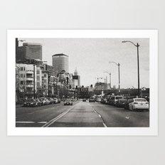 City Grain Art Print