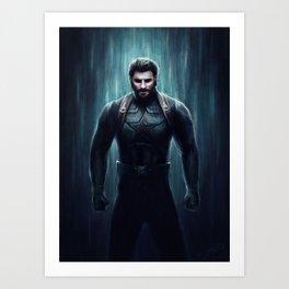 Get This Man A Shield Art Print