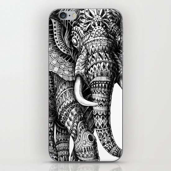 Ornate Elephant v.2 iPhone & iPod Skin
