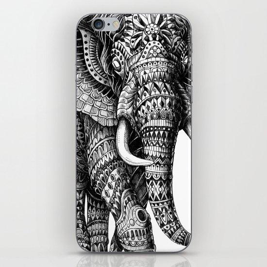 Ornate Elephant v.2 iPhone Skin