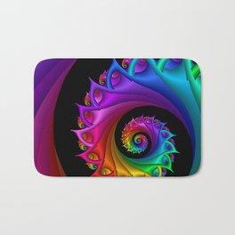 life is colorful -1- Bath Mat