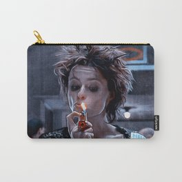 Marla Singer Smoking A Cigarette Carry-All Pouch