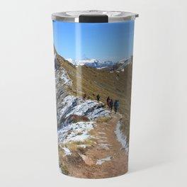 New Zealand Hiking Adventures Travel Mug