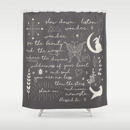 Mantra Shower Curtain