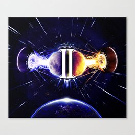 Dusk2Dawn (XL) Canvas Print