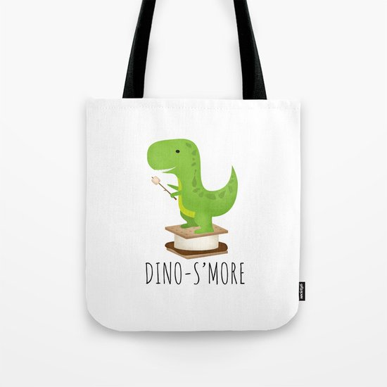 Dino-S'more Tote Bag