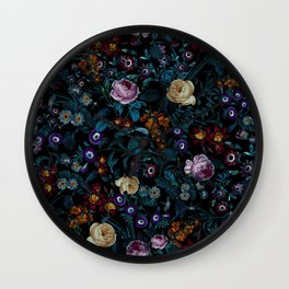Night Garden XXXIII Wall Clock