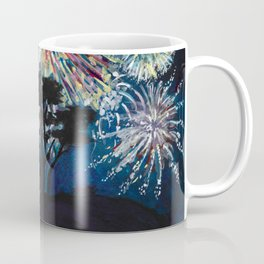 Crescent City Fourth of July ~ Battery Point Lighthouse Coffee Mug