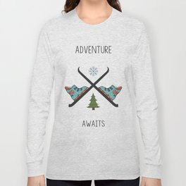 Adventure Awaits - Ski Long Sleeve T-shirt
