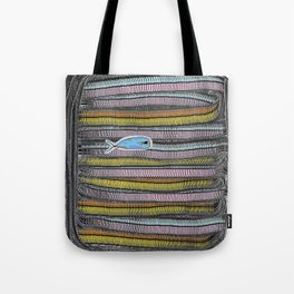 Not Whaling / Imperfect Lines Tote Bag