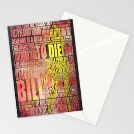 Kill Bill redux Stationery Cards