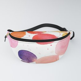 colorful bubbles Fanny Pack