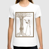 merlin T-shirts featuring Nimue & Merlin by TheScienceofDepiction