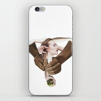apple iPhone & iPod Skins featuring Apple by fabiotir