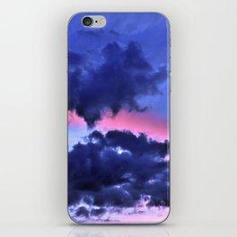 Clouds - Twilight Summer #1 #sunset #decor #art #society6 iPhone Skin