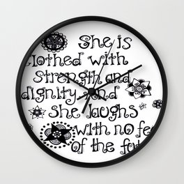 Madison Wall Clock