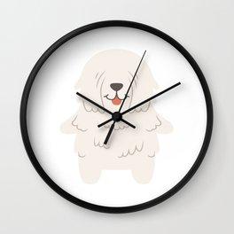 Komondor Gift Idea Wall Clock