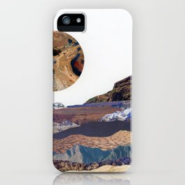 Marbled Moon II iPhone Case