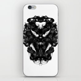 """""""Now, tell me what you see."""" iPhone Skin"""