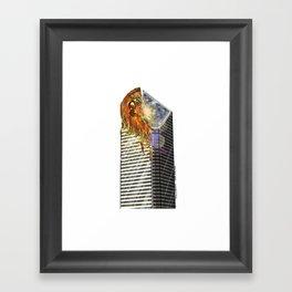 DEEP DEEP DISH Framed Art Print