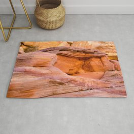 Colorful Sandstone, Valley of Fire State Park Rug