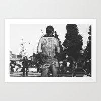 rockabilly Art Prints featuring Rockabilly Japan by Aimee Stoddart