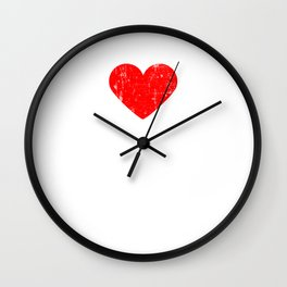 Heart RENTON | Love RENTON Wall Clock