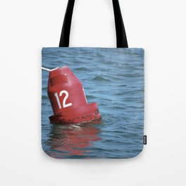 Buoy 12 south Tote Bag