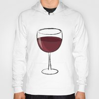 wine Hoodies featuring Wine by jssj