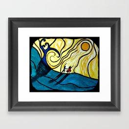To Heaven Together Framed Art Print