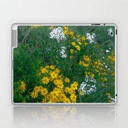 Flowers On the Edge Laptop & iPad Skin