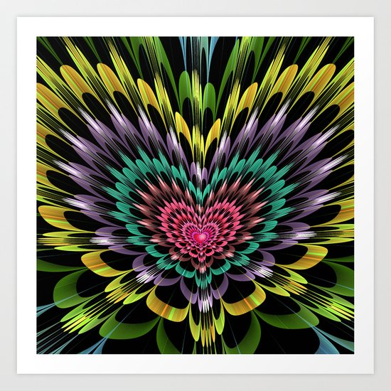 My heart explodes for you Art Print
