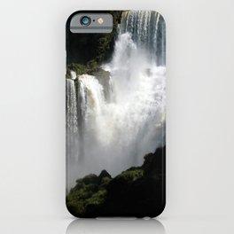 Iguazu Iguassu Waterfall Landscape Panorama Scenery, Brazil Argentina 5 iPhone Case