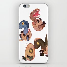 Raptor squad iPhone Skin