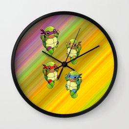 Pizza power Wall Clock
