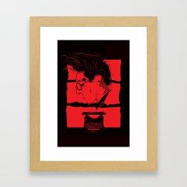 Inner Pain Framed Art Print