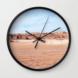 VALLE DE LA LUNA I Wall Clock