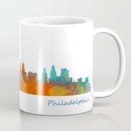 Philadelphia City Skyline Hq V1b Coffee Mug