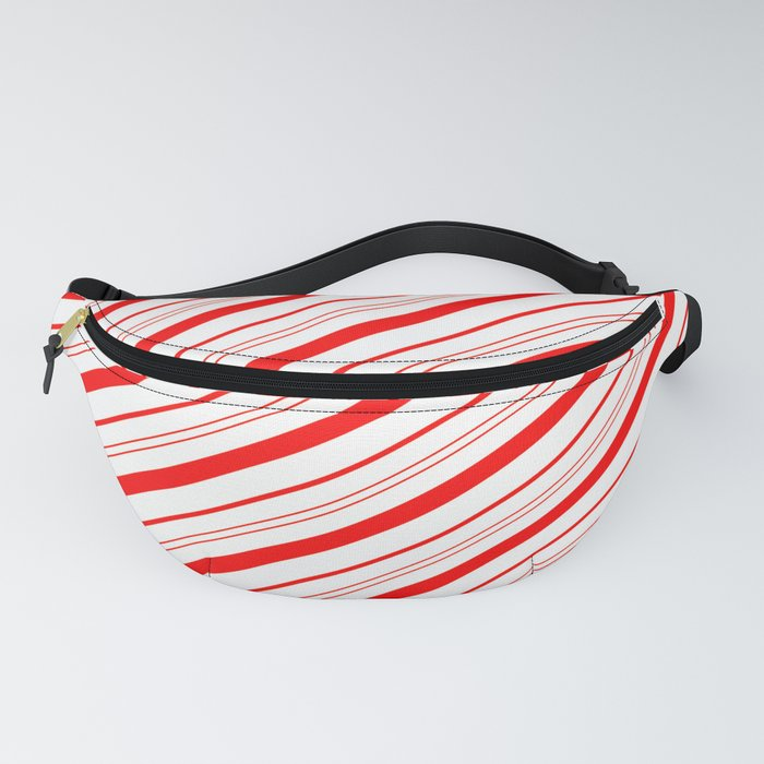 Candy Cane Stripes Fanny Pack