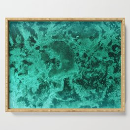 Malachite Dream #1 #gem #decor #art #society6 Serving Tray