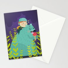 Night adventures Stationery Cards