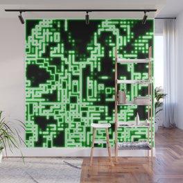 Neon abstract Wall Mural