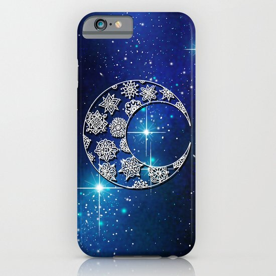 Moon and Stars iPhone & iPod Case