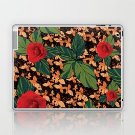 rose with dandelion - variant Laptop & iPad Skin