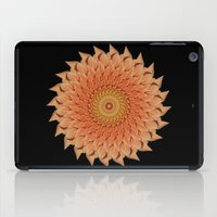 dahlia iPad Cases featuring Dahlia by Deborah Janke