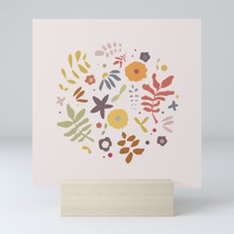 Floral Bomb Mini Art Print