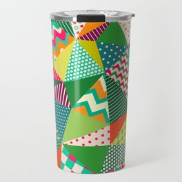 Patch Work Pattern. Travel Mug